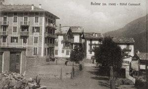 incendio, allarme all'hotel di Balme