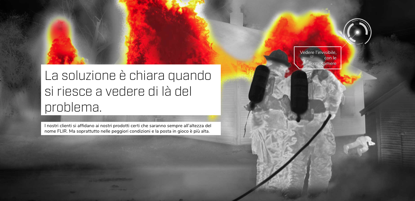 telecamere termiche flir, sicurezza, video analisi